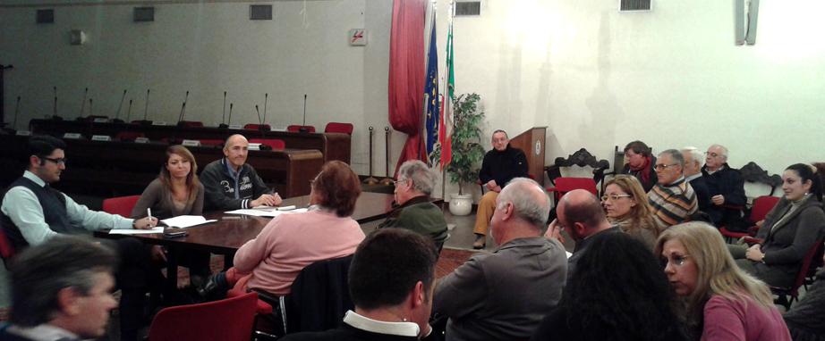 Il tavolo San Giuliano 2015