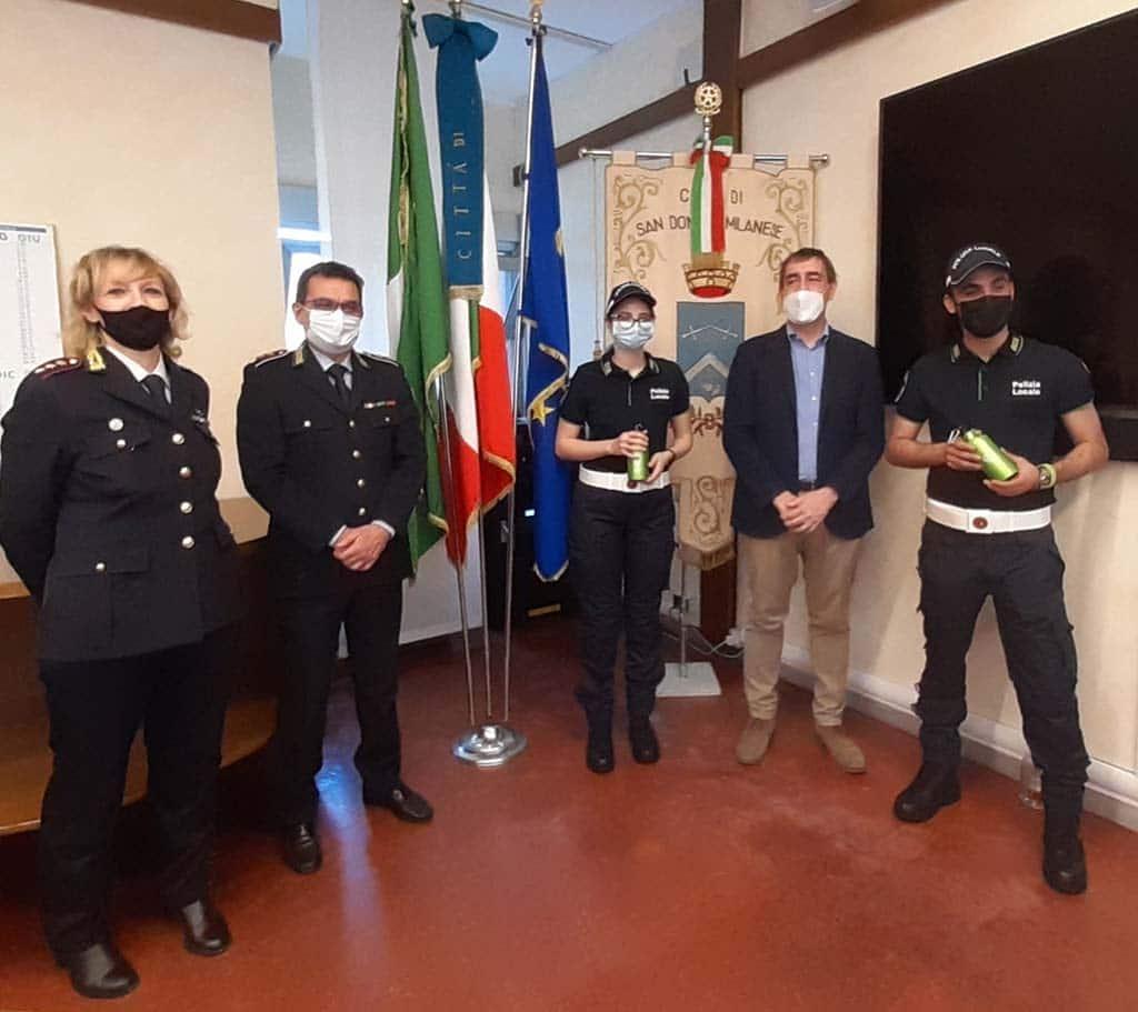 San Donato Milanese - Nuovi Agenti di Polizia Locale