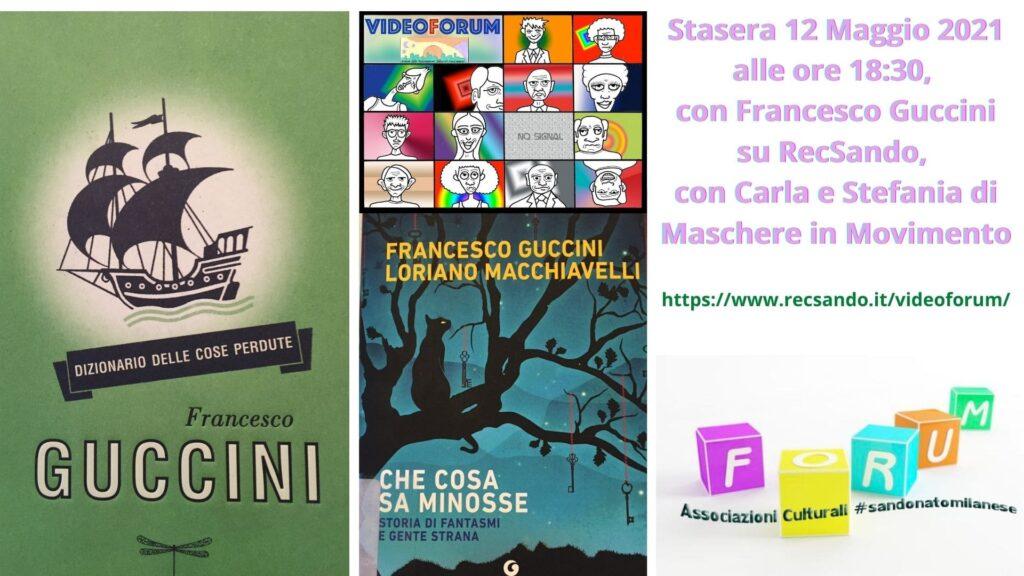 Si parla di Francesco Guccini su RecSando a cura del Forum Associazioni di San Donato Milanese, Maschere in Movimento