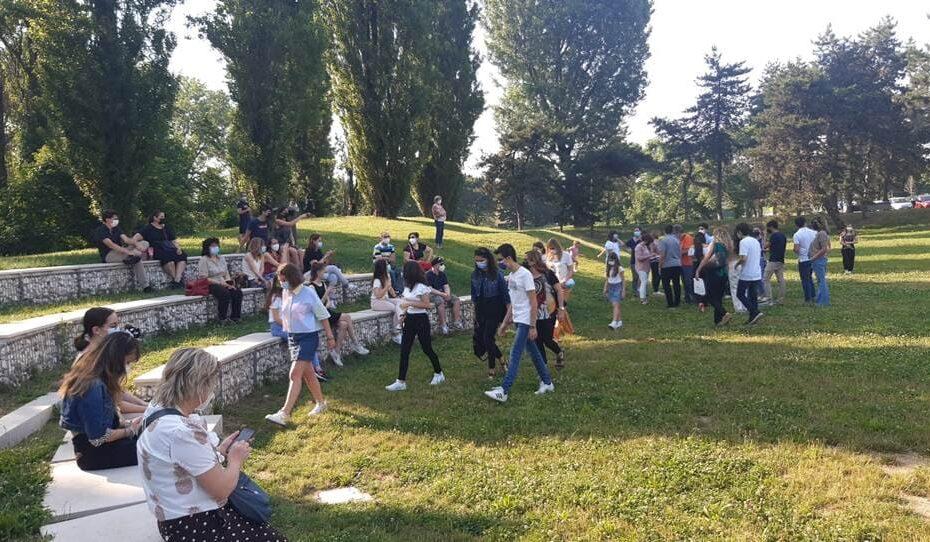Peschiera Borromeo - premiazione Anno scolastico San Bovio