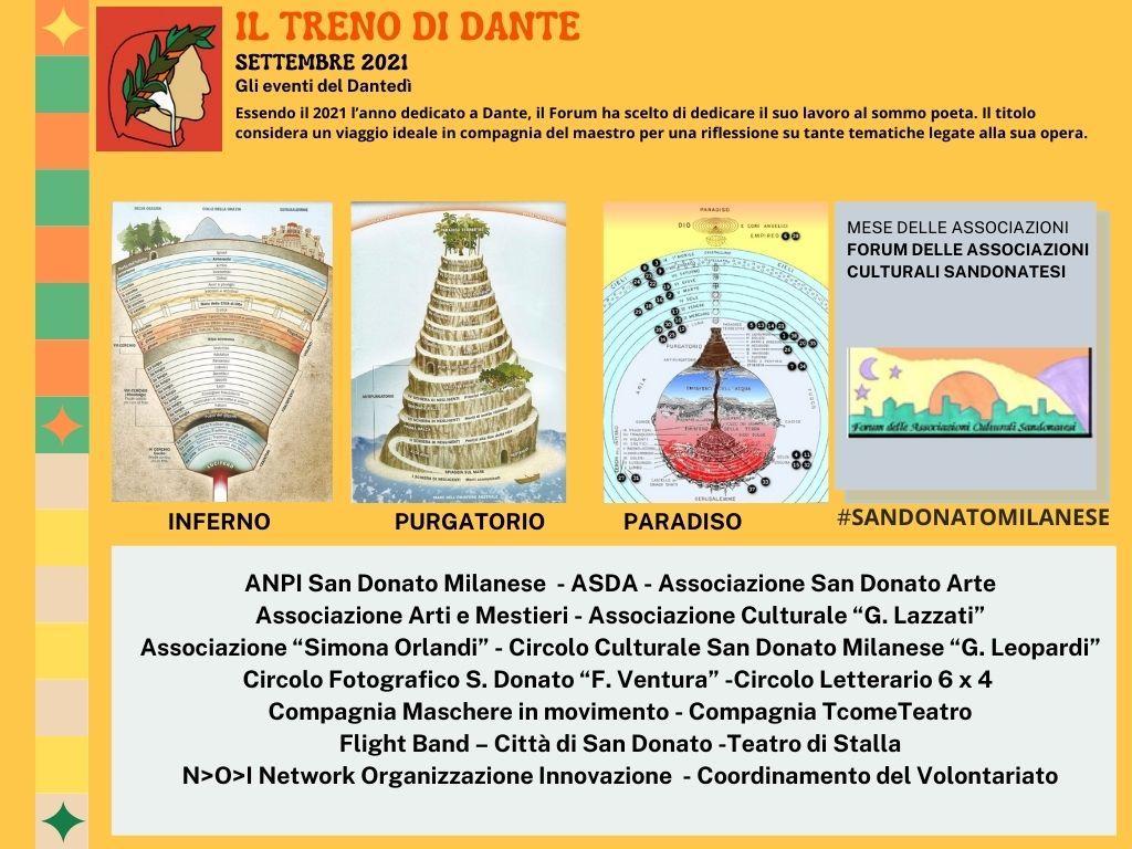 MESE DELLE ASSOCIAZIONI FORUM ASSOCIAZIONI CULTURALI_treno di Dante